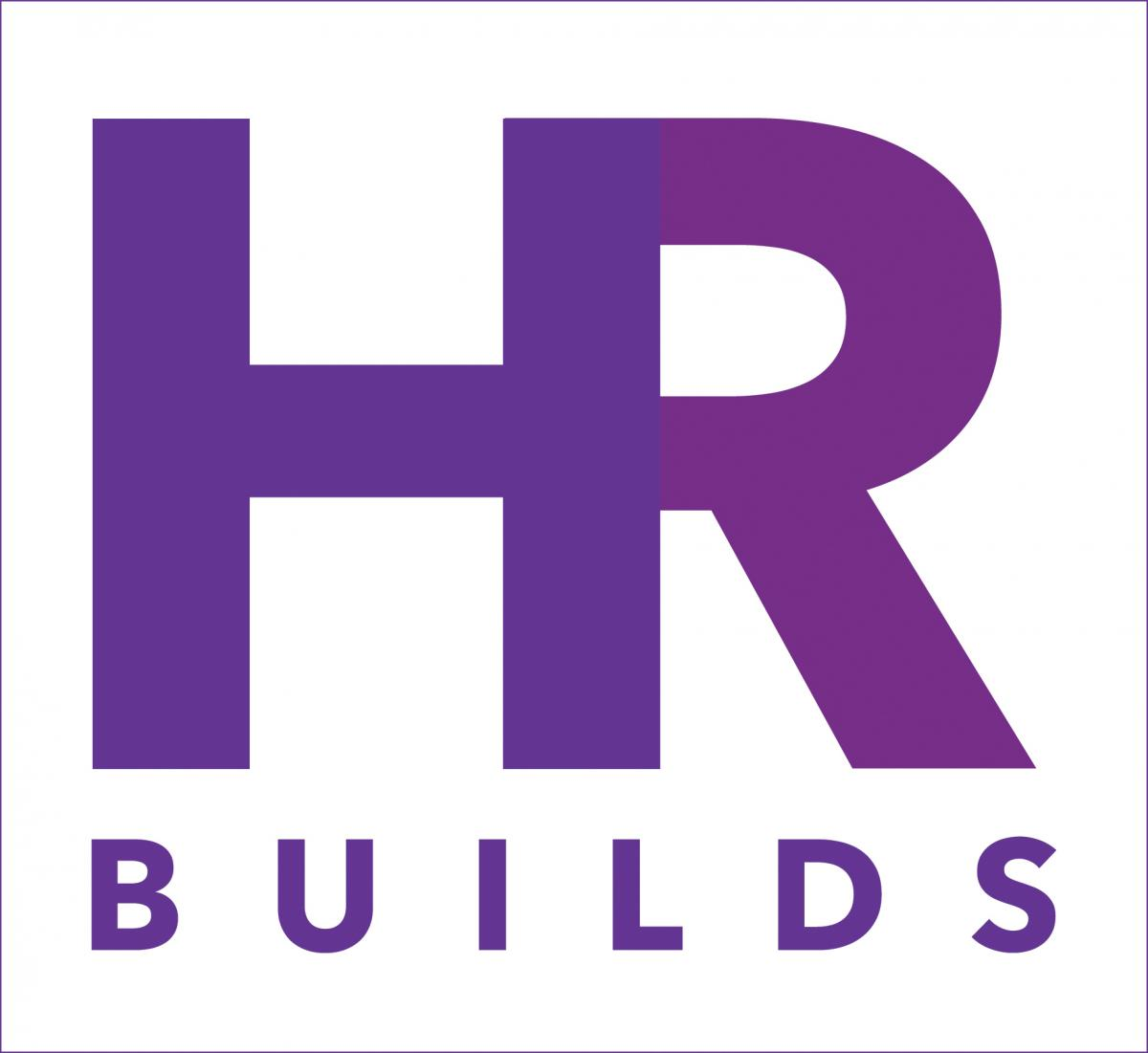 Graphic of an interlocking H and R over the word Builds
