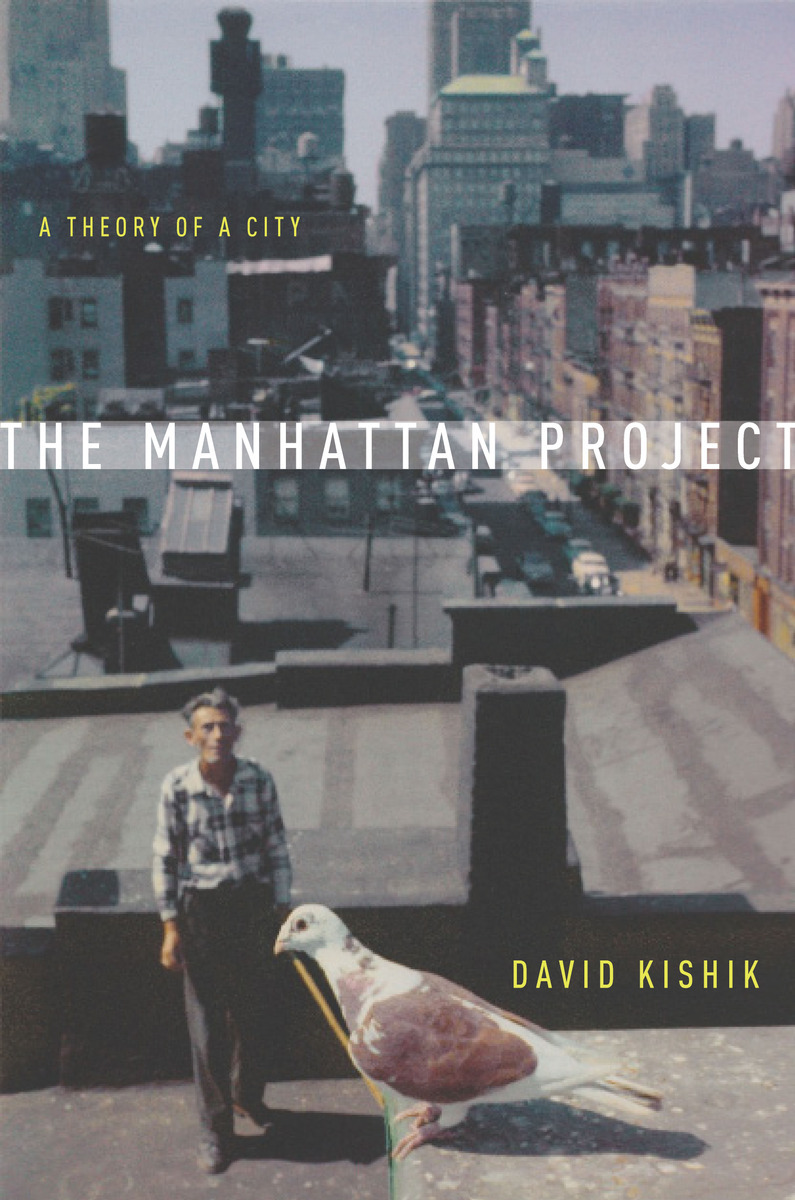 Book cover for The Manhattan Project by David Kishik